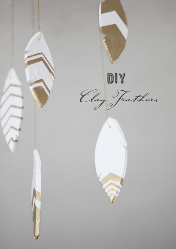 25 kid friendly clay projects to keep the little ones busy with diy clay feathers solutioingenieria Choice Image