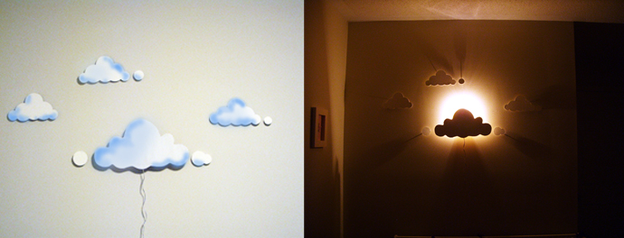 DIY Cloud Night Lights