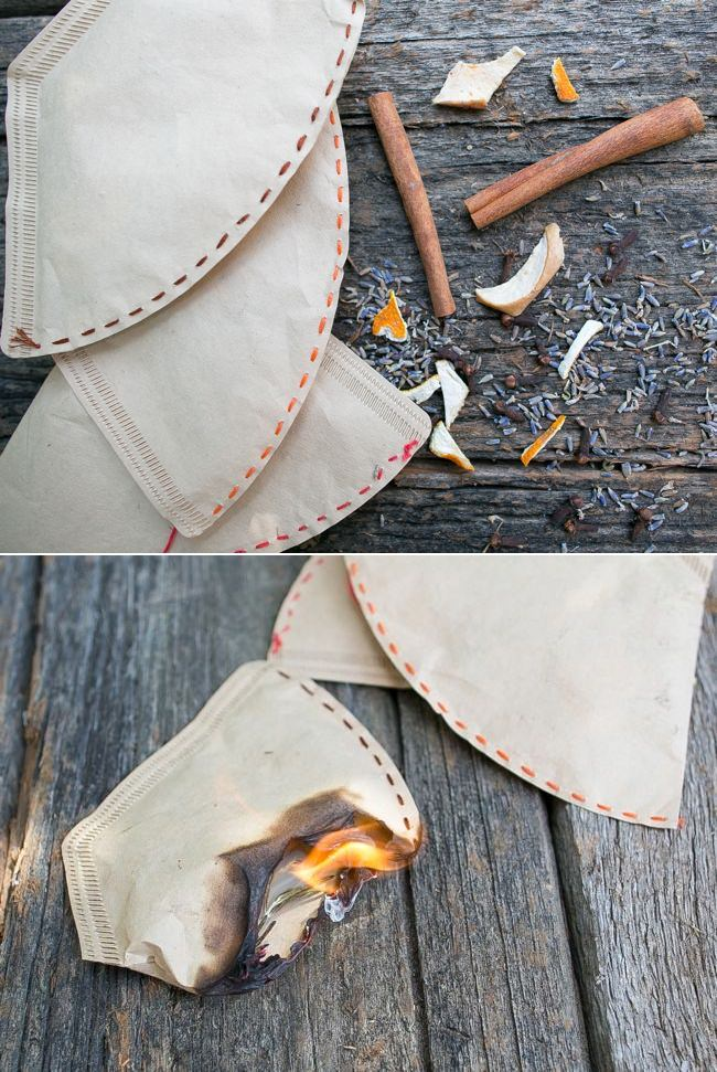 Diy herb fire starter
