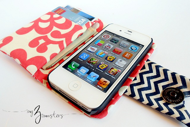 Easy diy iphone wallet