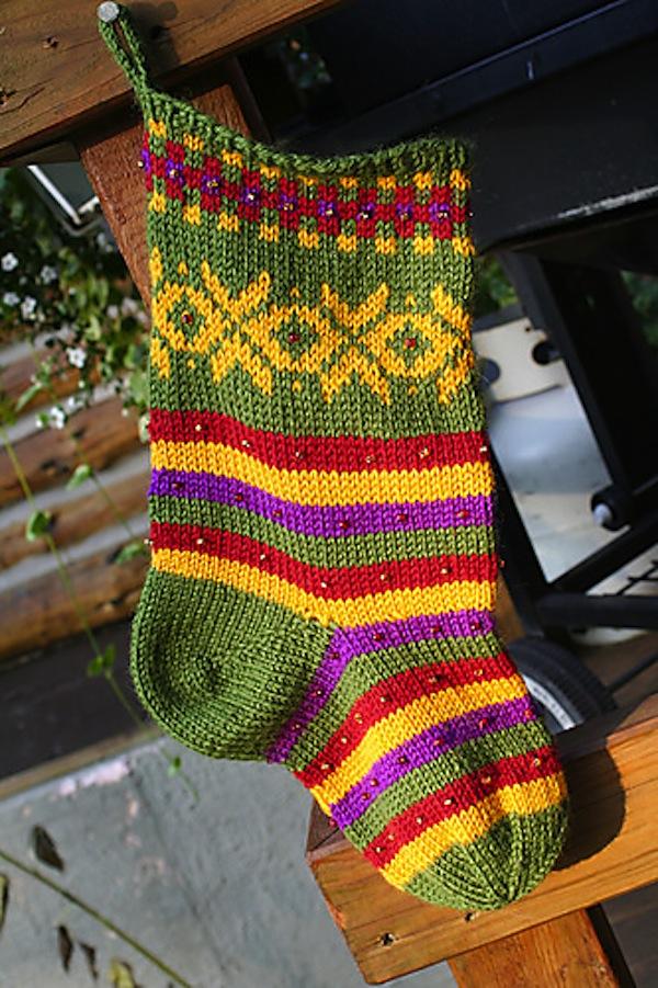 Fana christmas stocking