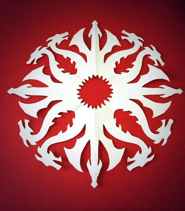 Game of thrones snowflake