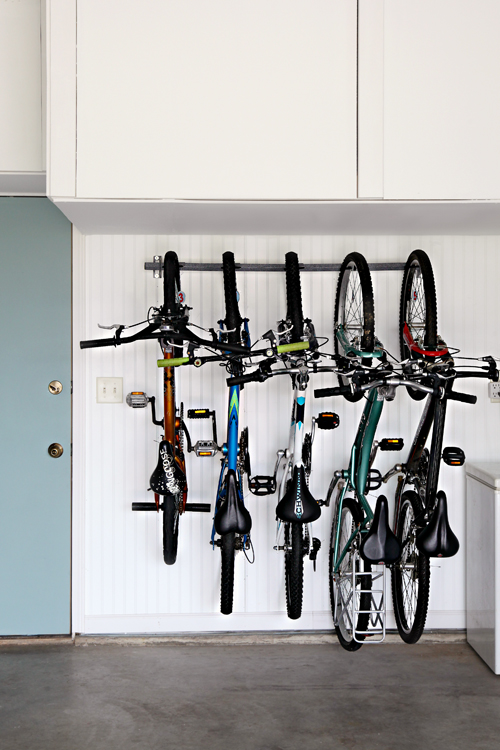 Garage bike organization