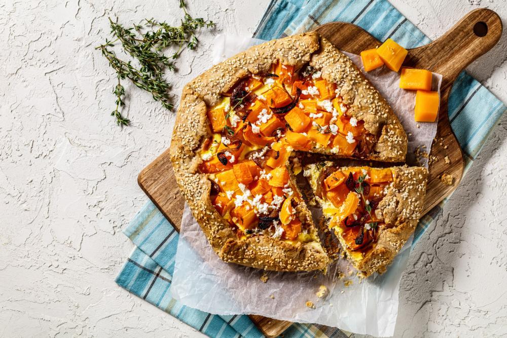 Pumpkin galette thanksgiving appetizers