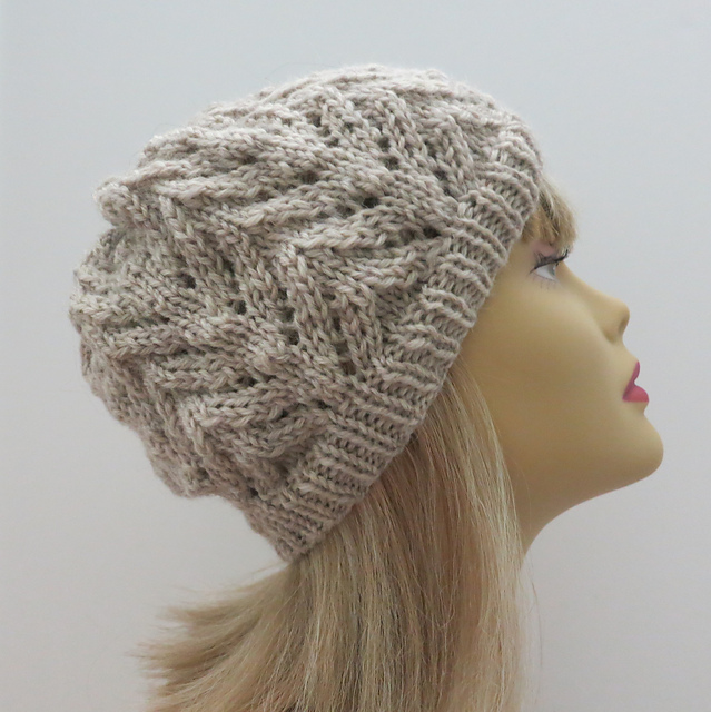 Rachel zigzag winter hat