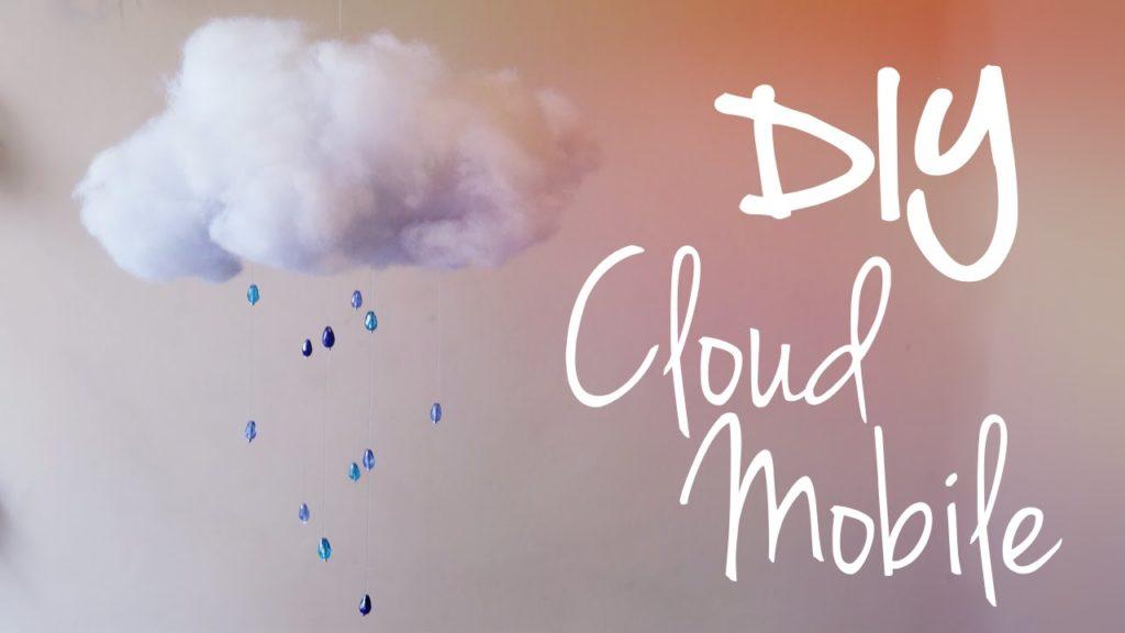 Raining cloud mobile