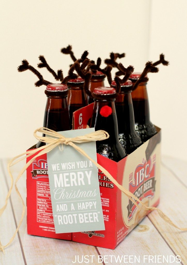 Reindeer root beer