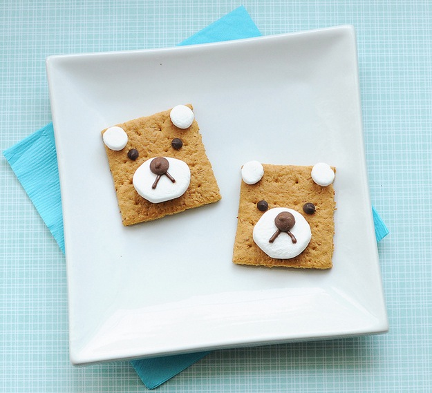 Teddy bear s'more