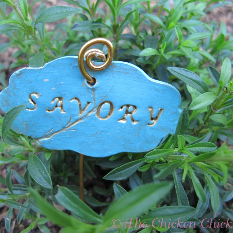 Diy charmed garden markers