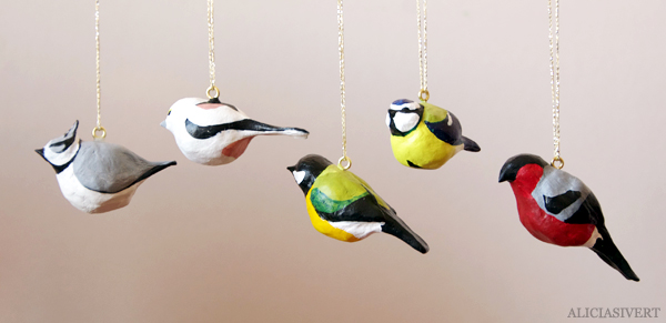 Diy clay birds