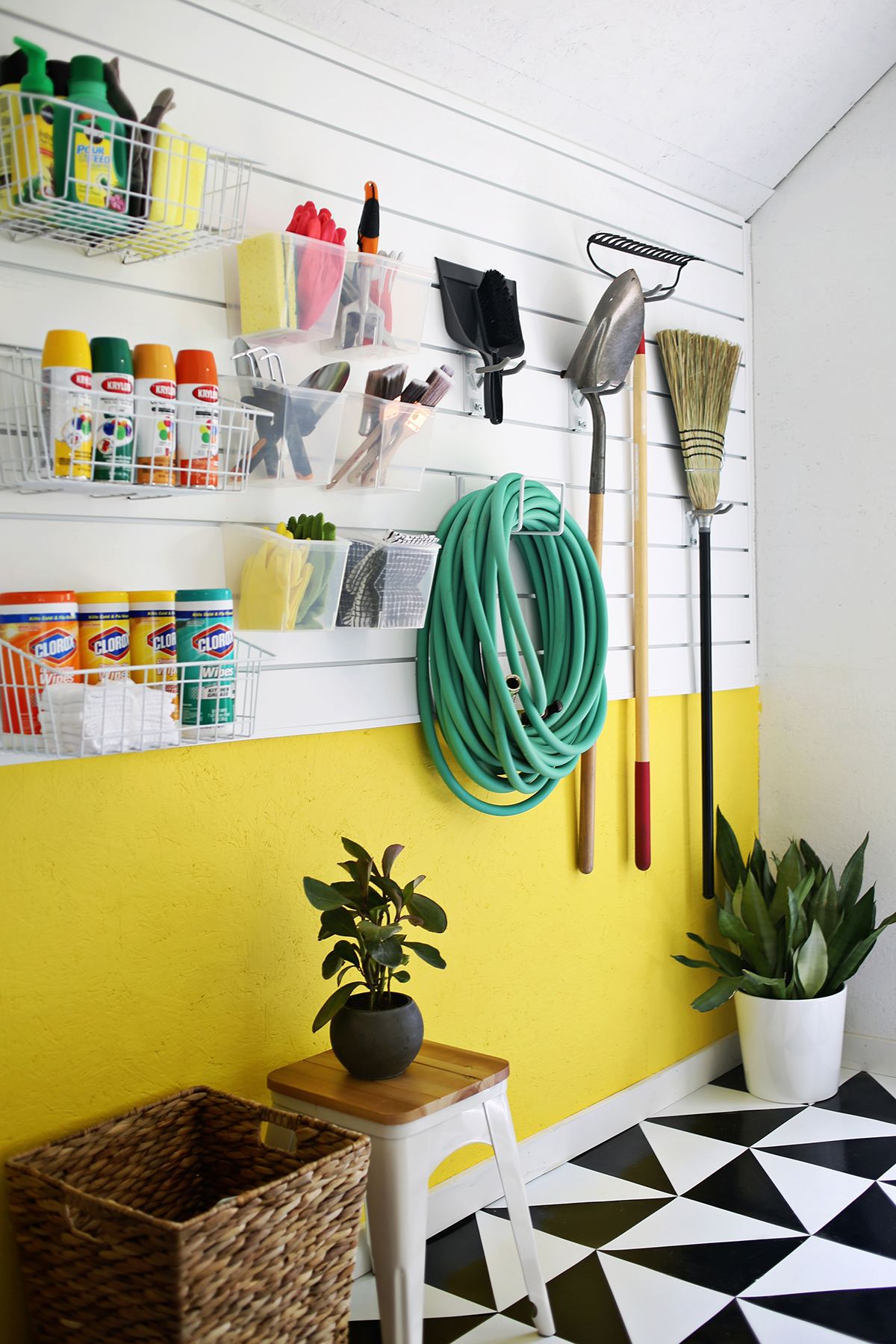Diy garage wall storage