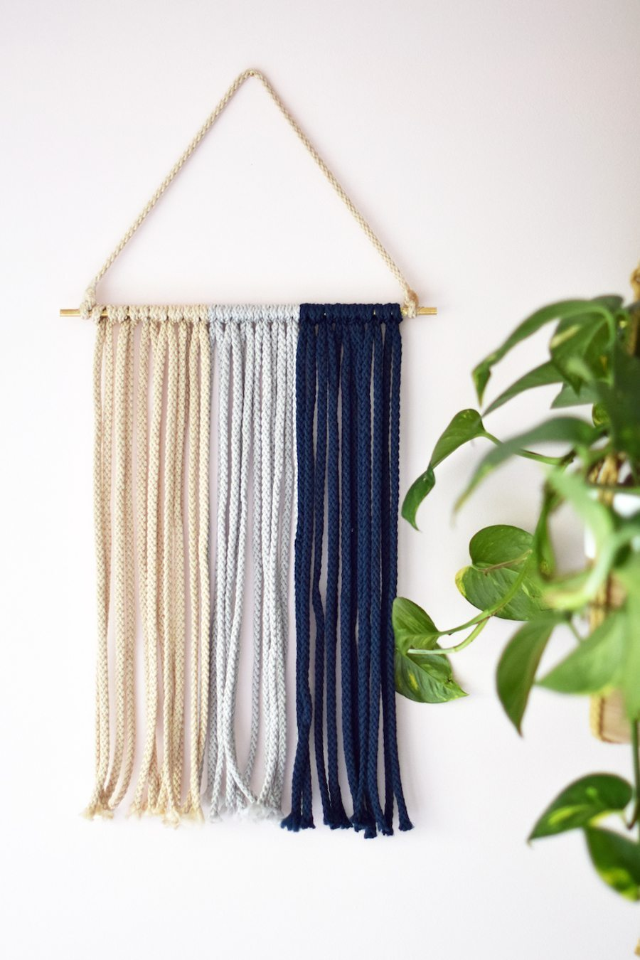 Diy macrame wall hanging darling