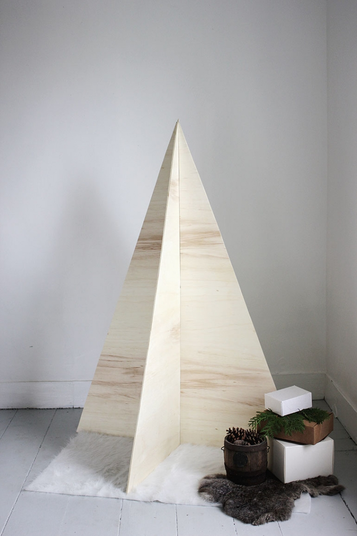 Diy plywood tree