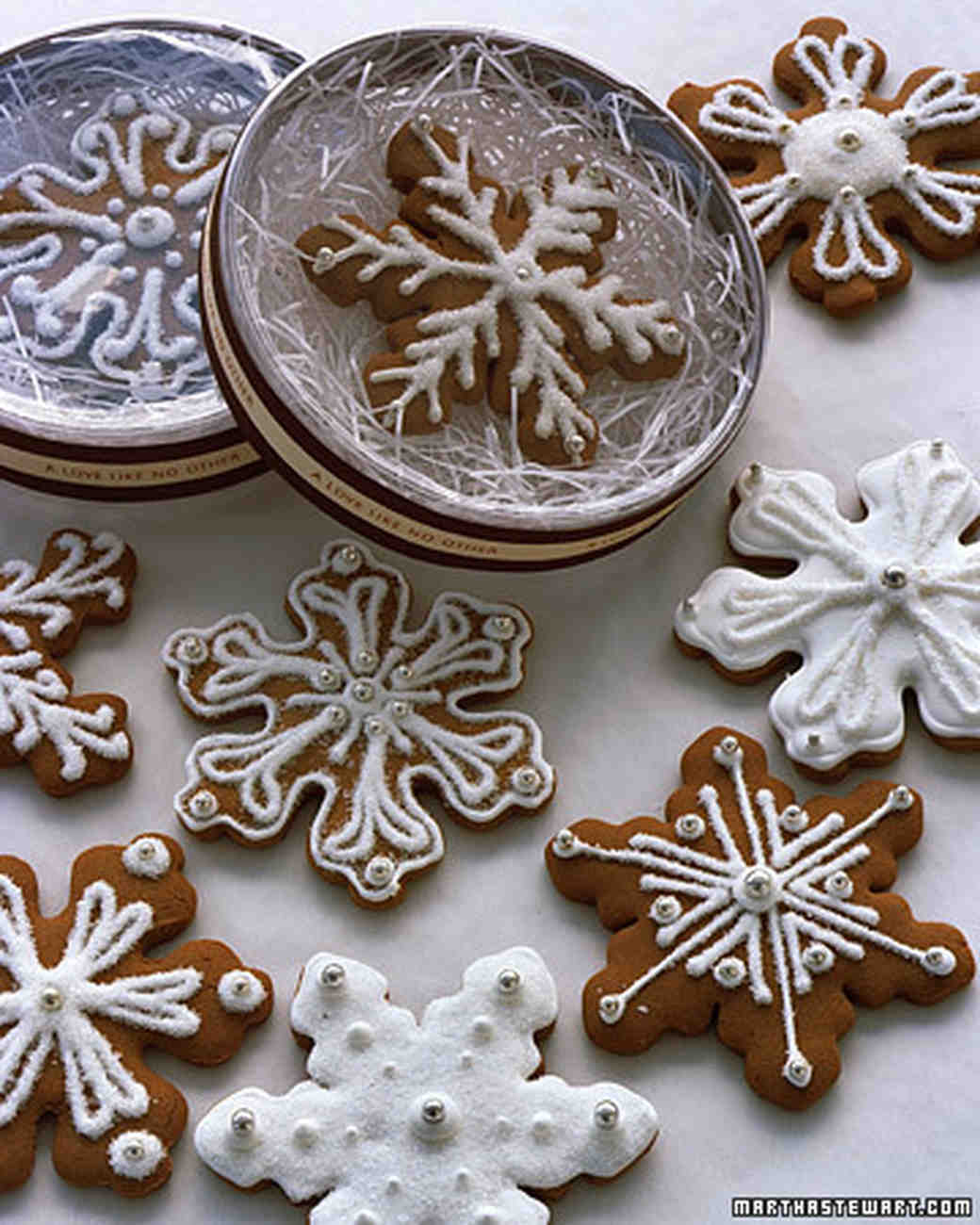 Diy snowflake cookie favors