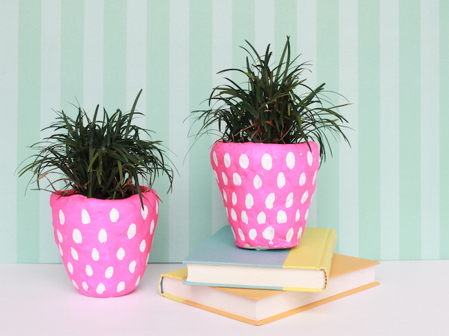 Diy strawberry planters