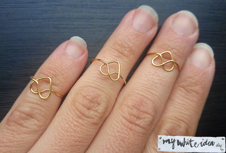 Easy diy heart ring