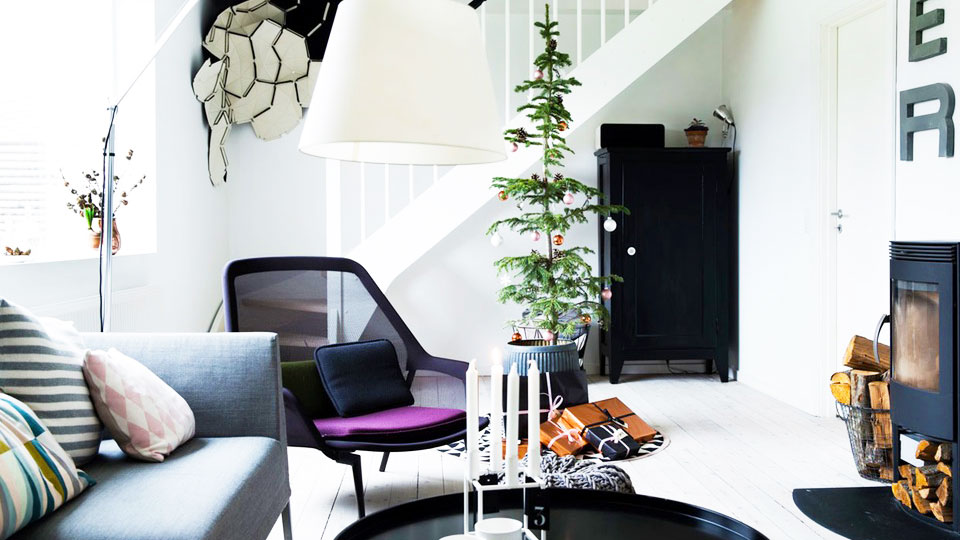 Modern holiday tree