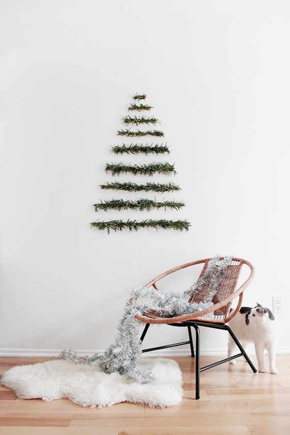 Modern wall hanging christmas tree almost makes perfect1