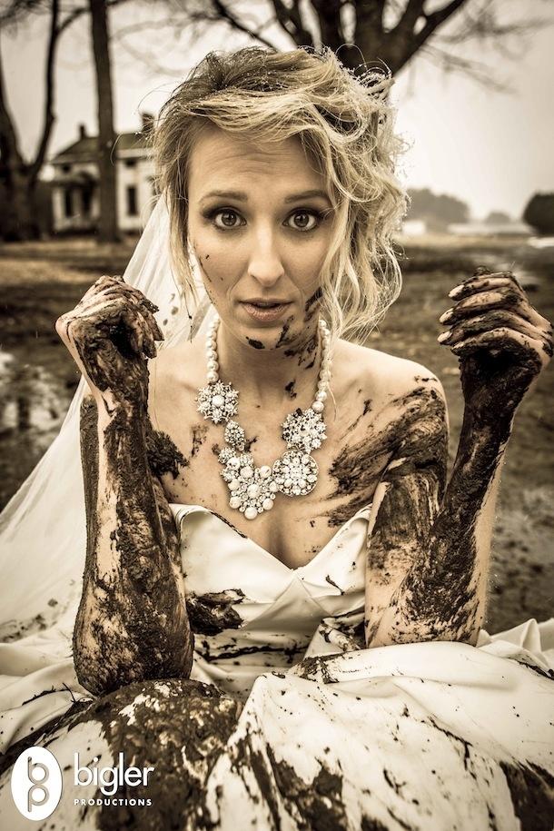 25 Creative Ways To Trash The Dress