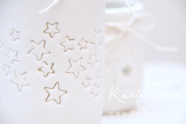Star jar diy candle holder