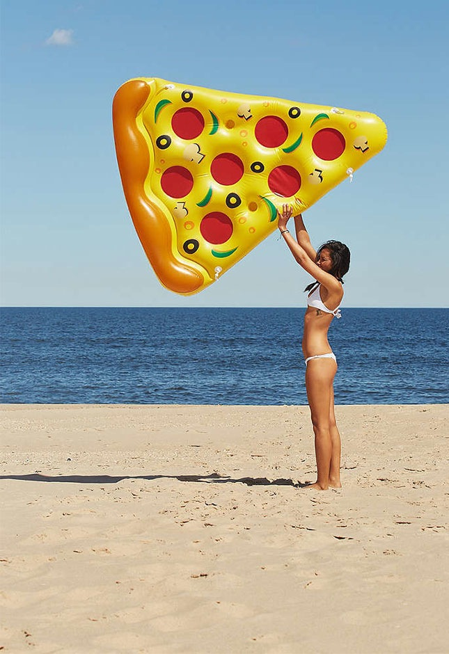 16 30th birthday pizza party pool float