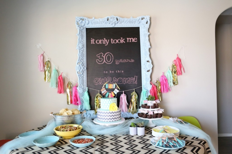 Celebrate in style with these 50 diy 30th birthday ideas for 30 birthday decoration ideas
