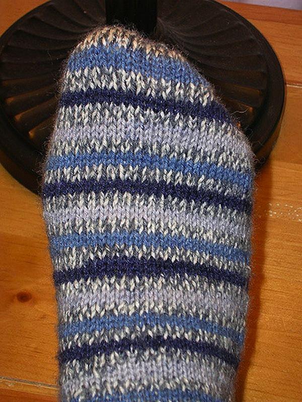 A good, plain sock