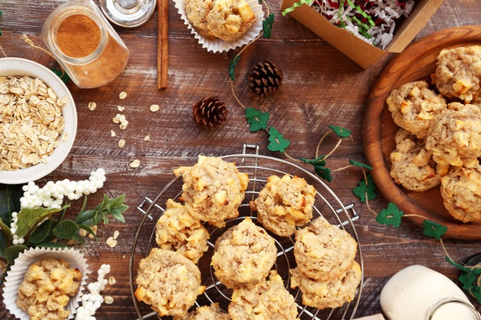 Apple crisp cookie