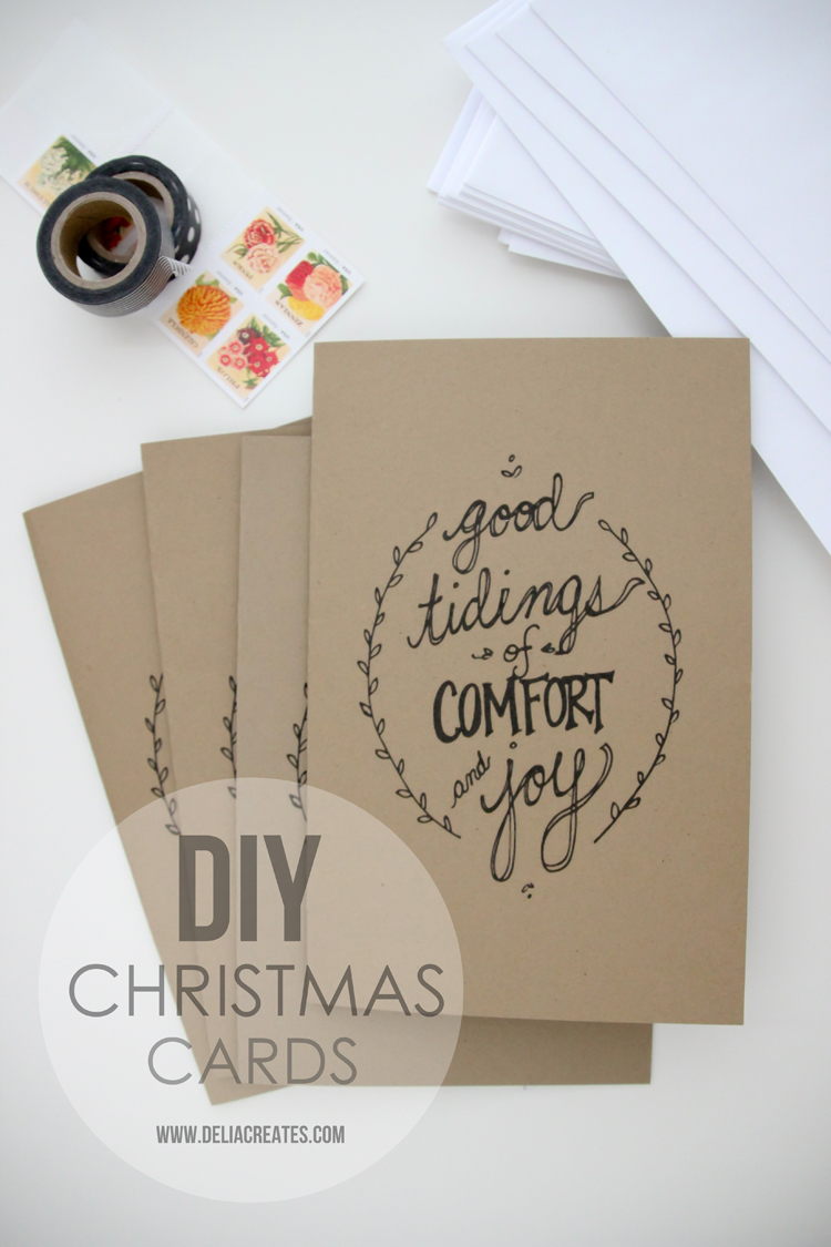 Christmas cards diy free printable