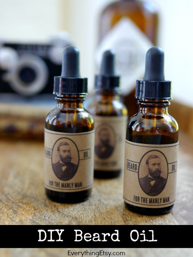 Diy beard oil for the manly man everythingetsy com
