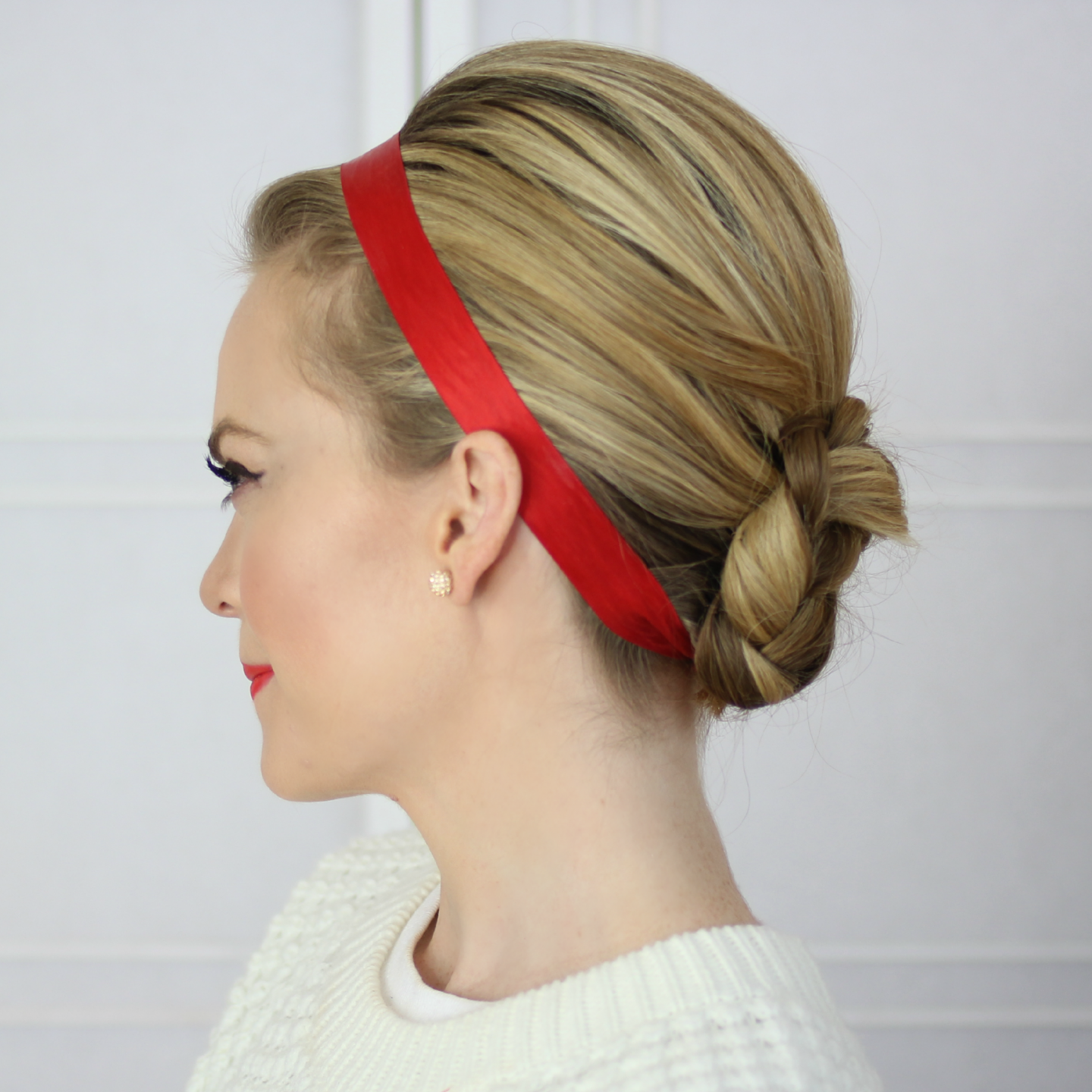 Diy ribbon headband