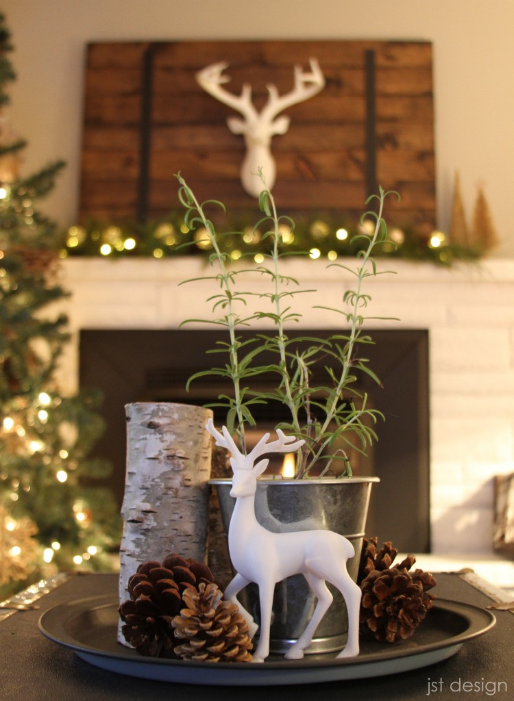 Diy woodland scene centerpiece