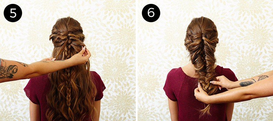 Diy mermaid braid tutorial