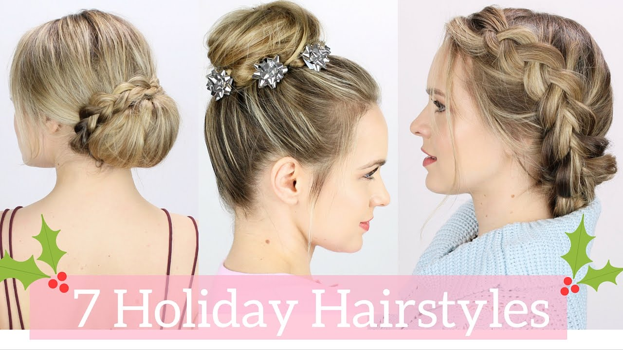 Gift bow bun diy hair