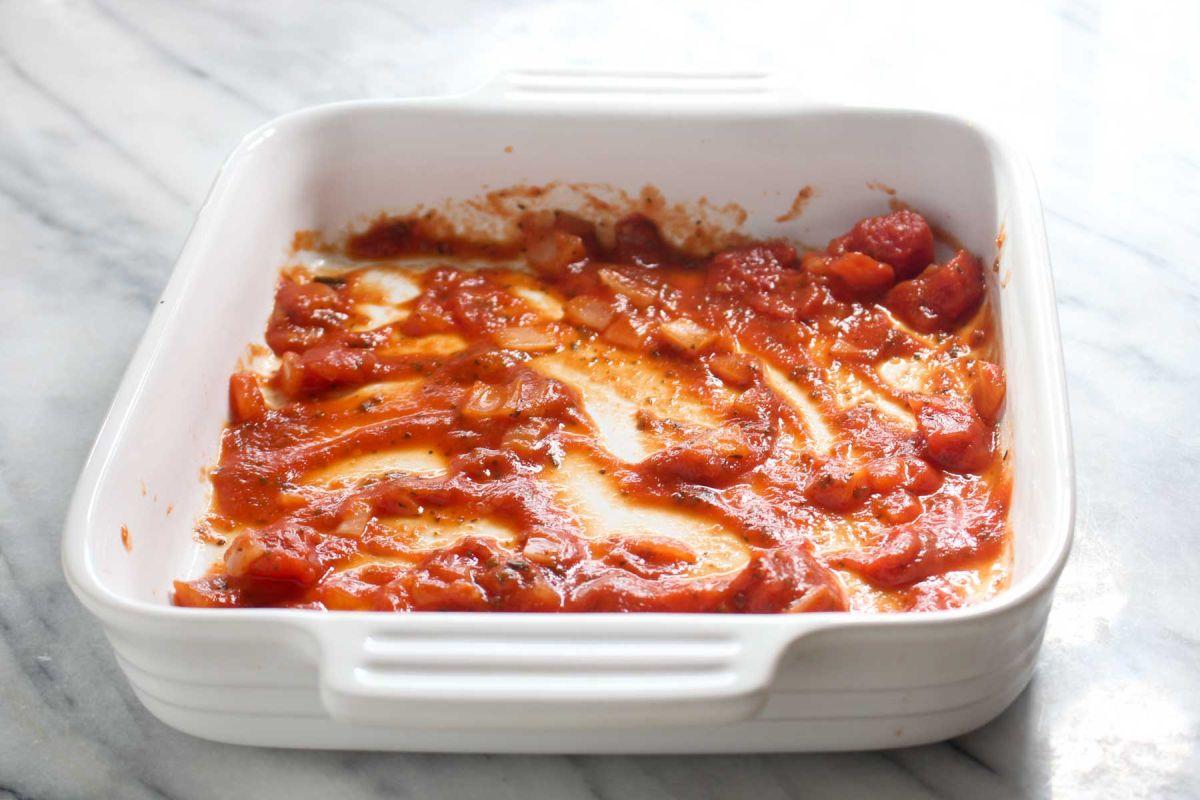 Healthy homemade lasagna noodles