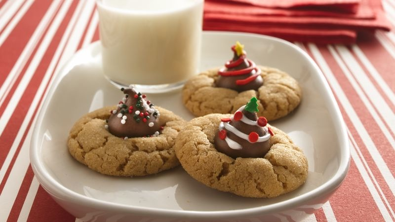 Hershey kiss cookies