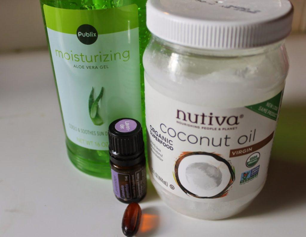 Lavender coconut aloe verta soothing shave gel