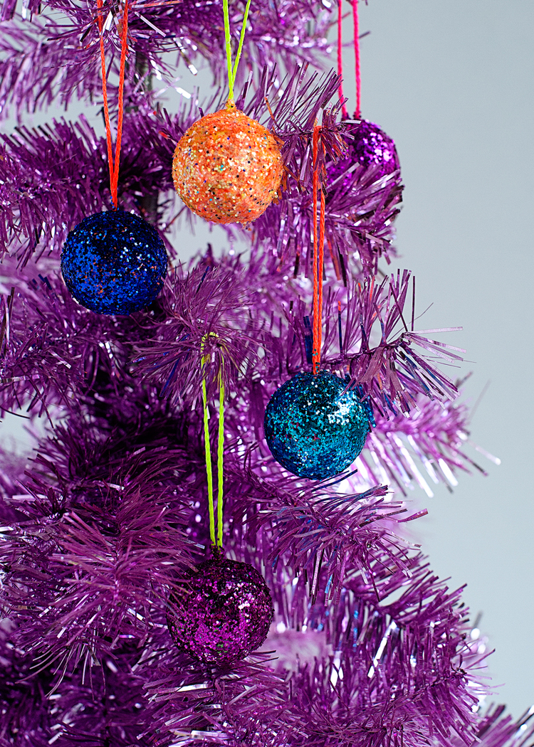 Mini glitter disco balls