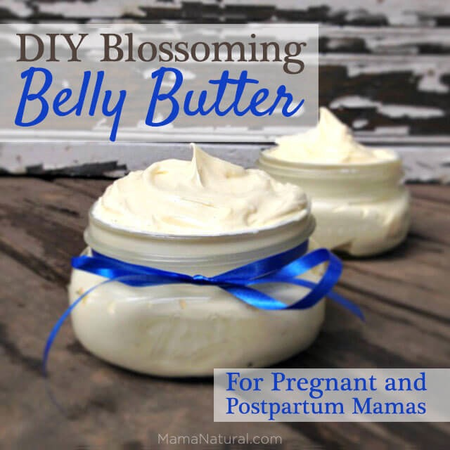 Natural belly butter for expecting mamas
