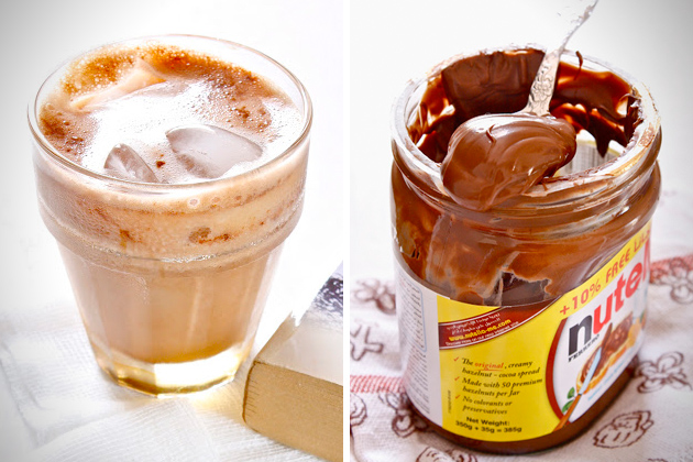 Nutella instant iced coffee