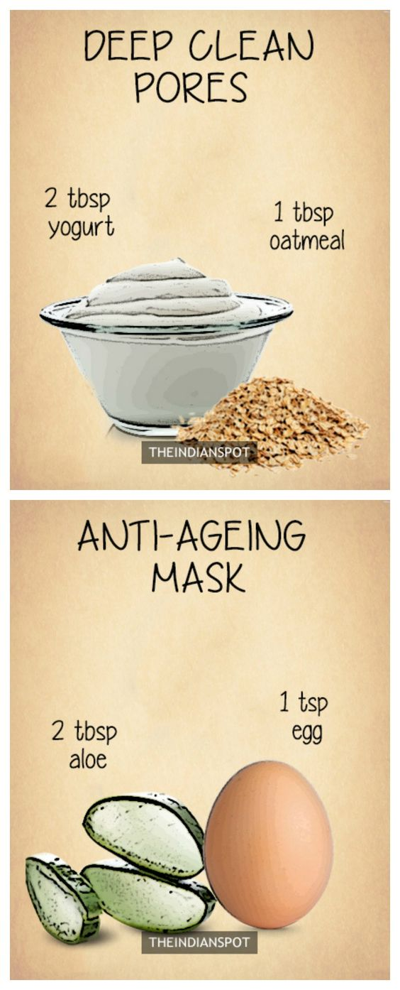 Overnight face masks deep clean