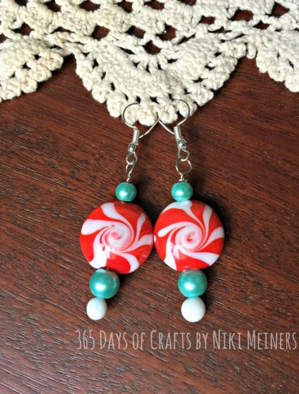 Peppermind earrings