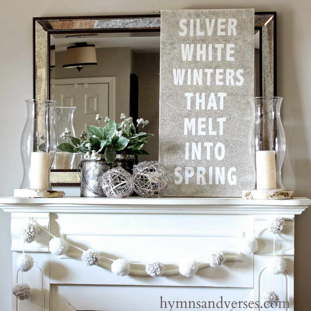 Silver white winters that melt into spring