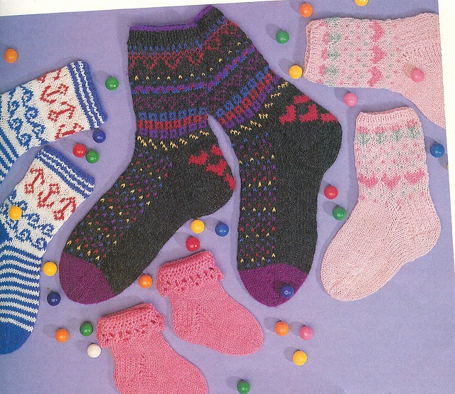 Spunky winter socks