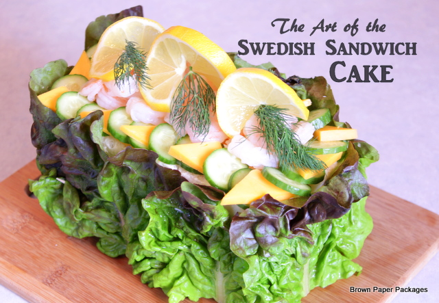 Swedish sandwich cake art