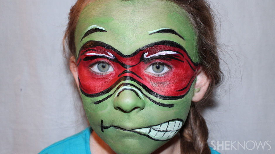 Tmnt face paint diy