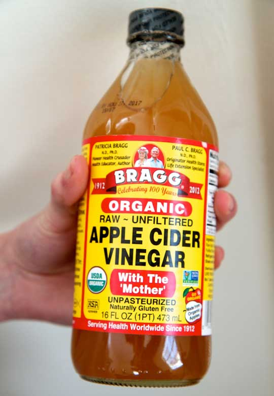 Apple cider vinegar for clear skin