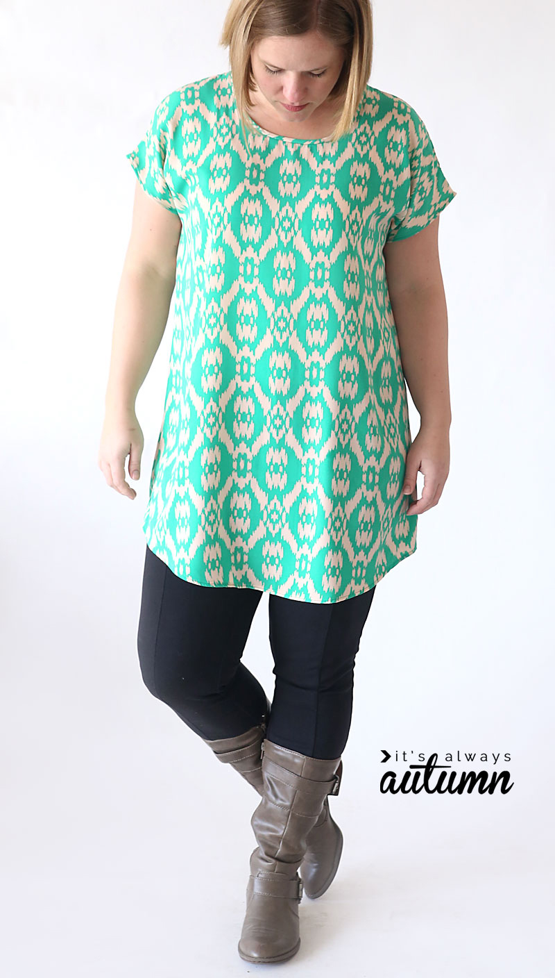 Breezy tunic diy tutorial