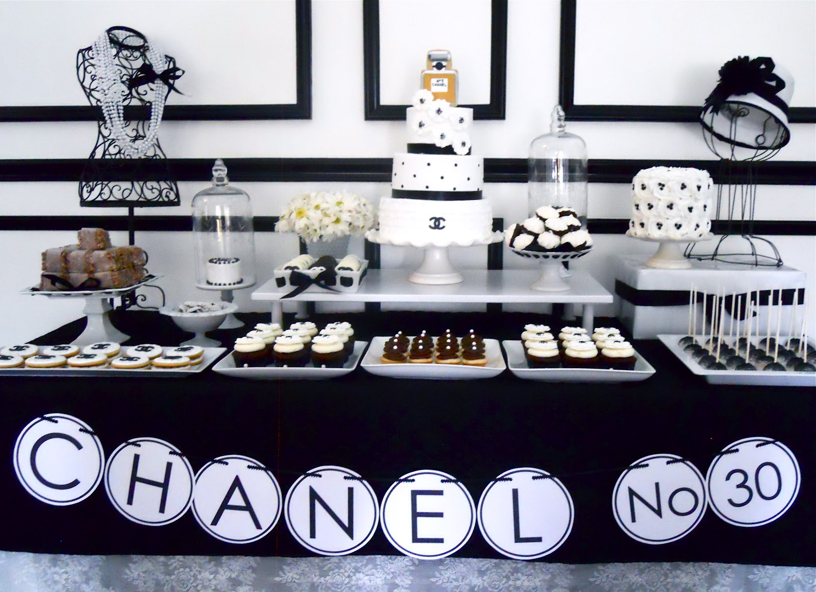 Chanel no 30 birthday theme