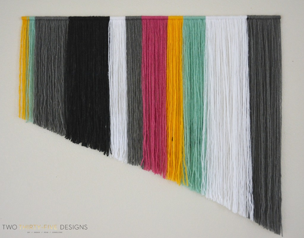 Wall Hanging Craft Design : Diy yarn wall hangings